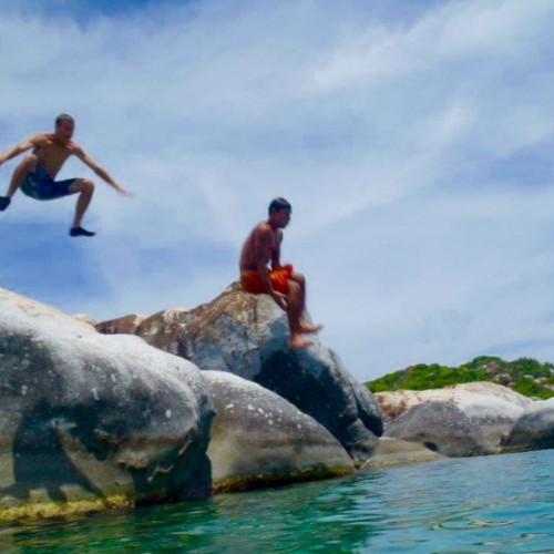 Bath, Virgin Gorda Rock Jumping