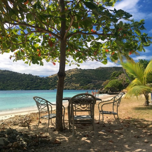 B-Line Beach Bar, Little Jost BVI