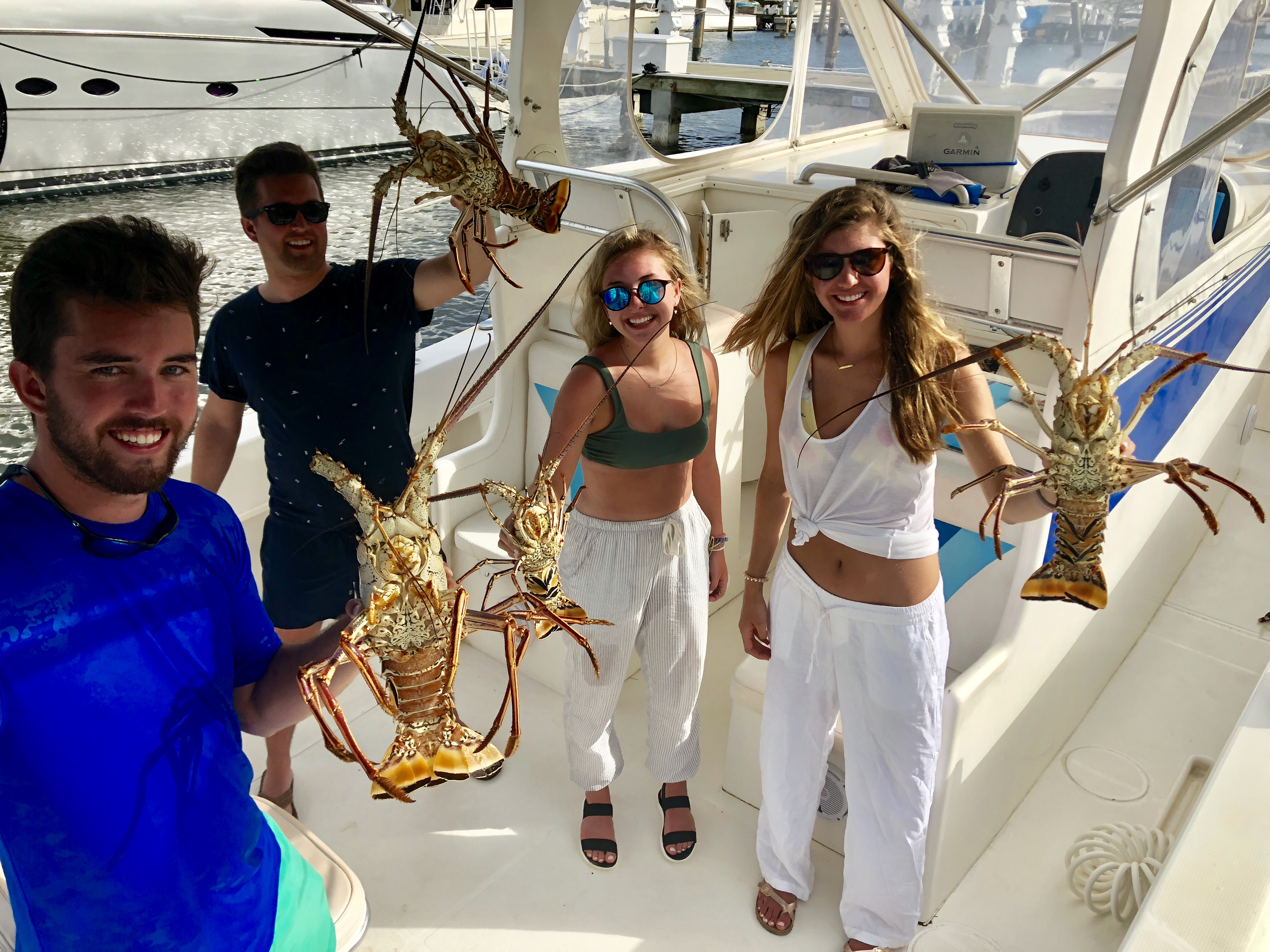 Spearfishing and Lobster diving trips